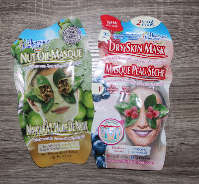 Montagne Jeunesse Nut Oil Face Masque & Dry Skin Mask