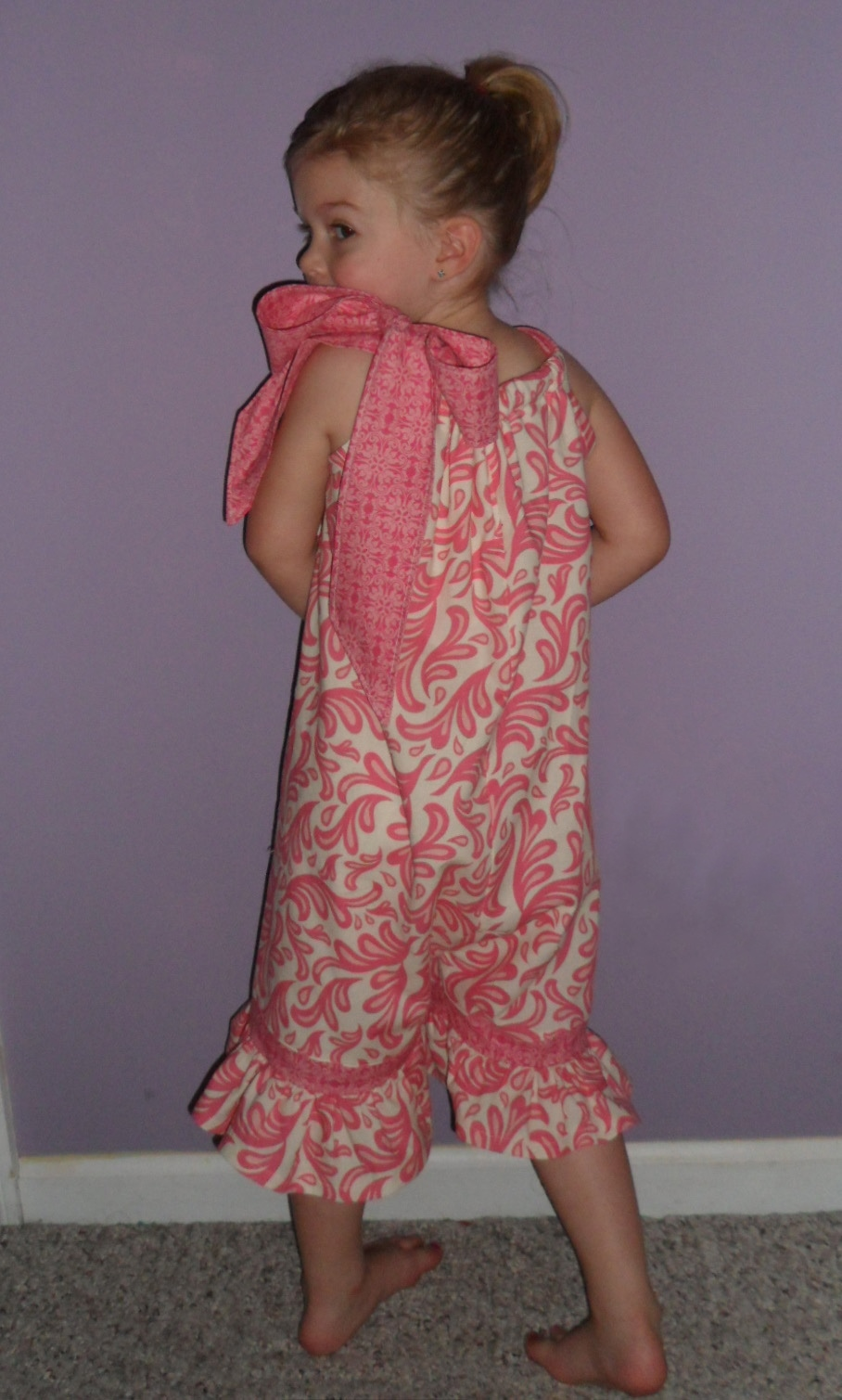 how to make a pillowcase romper