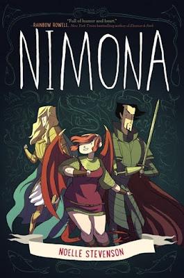 Nimona by Noelle Stevenson Book Cover