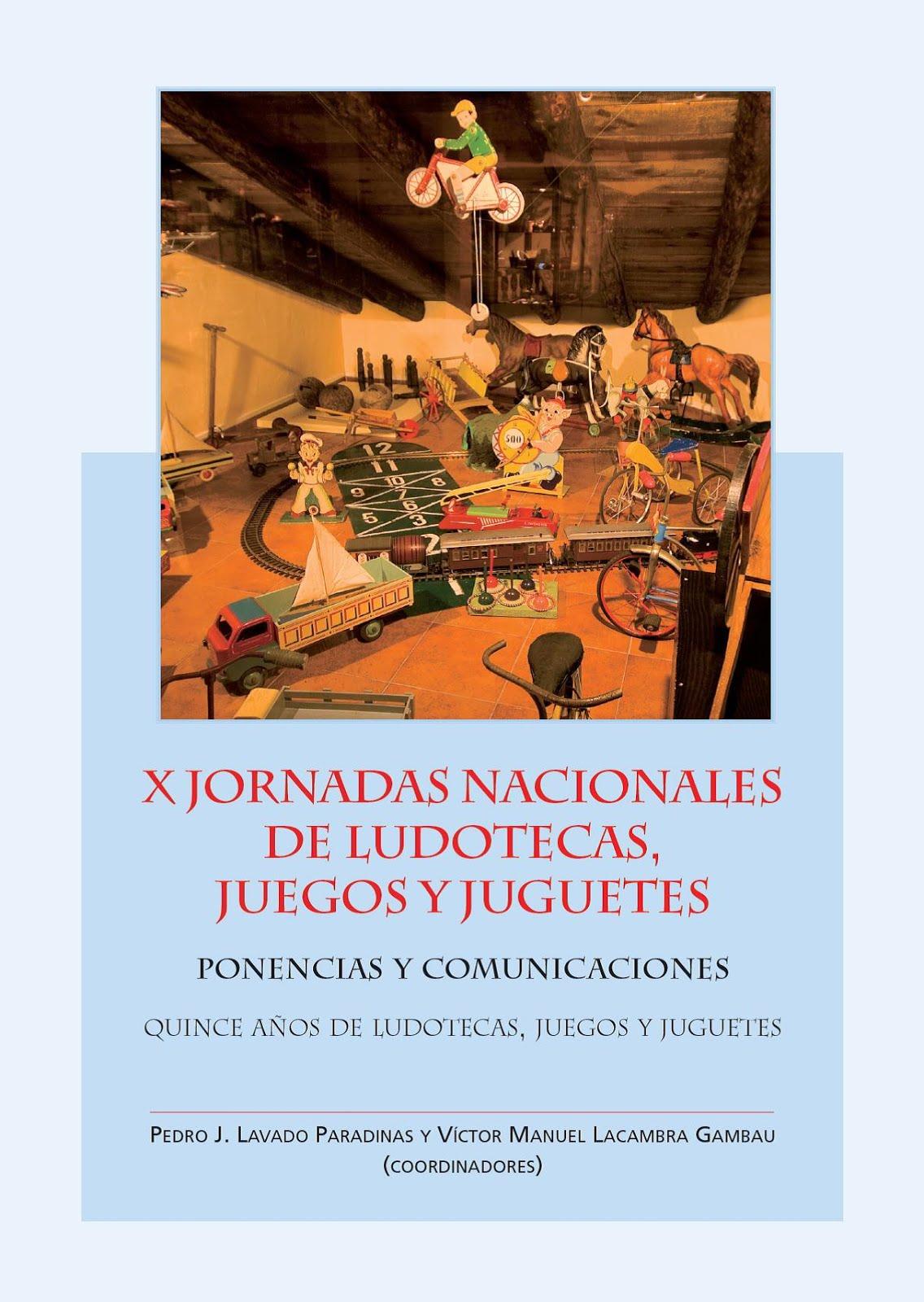 X Jornadas Nacionales de Ludotecas