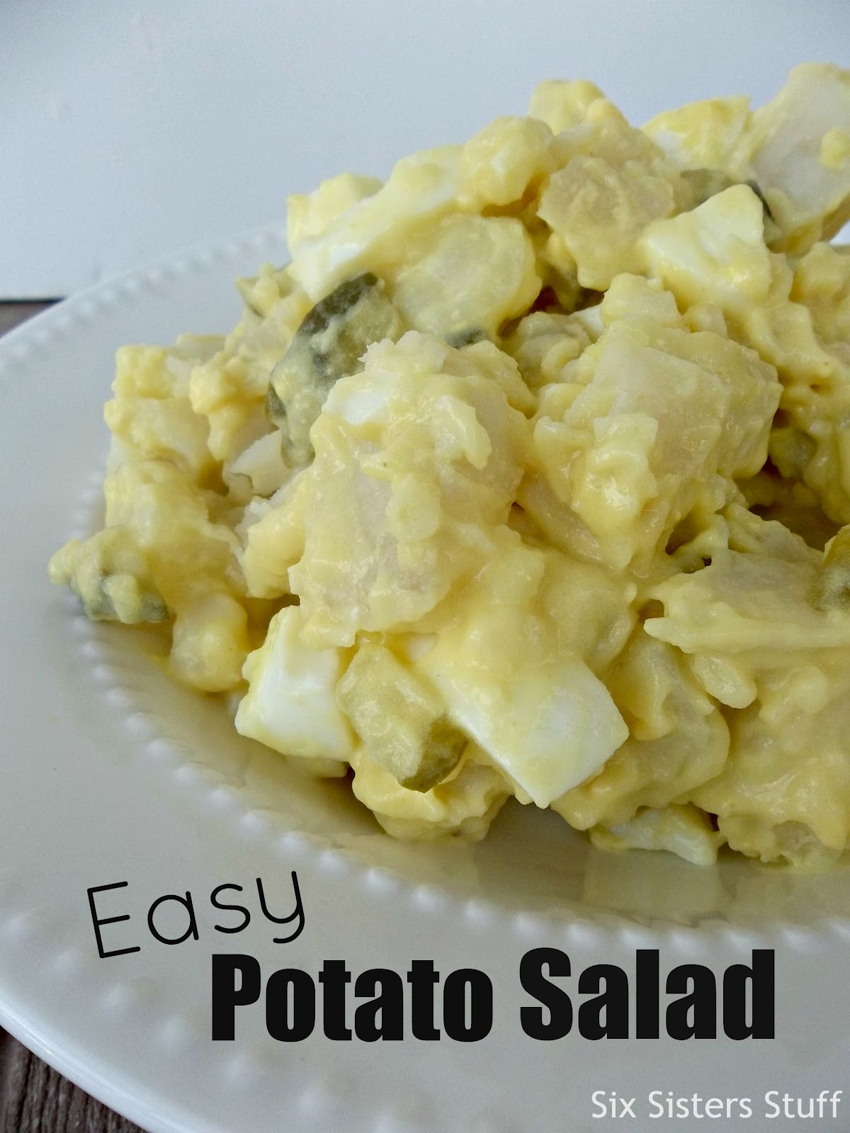 Mom's Easy Potato Salad Side Dish / Six Sisters' Stuff | Six Sisters ...
