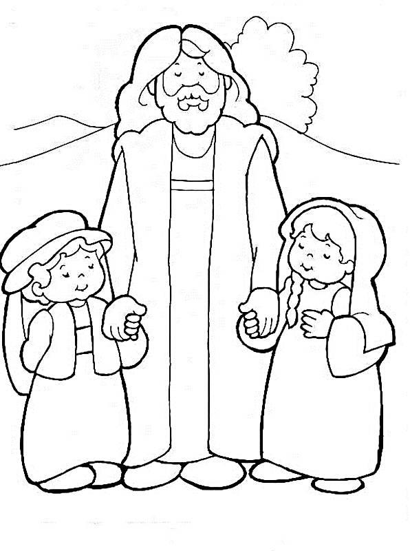 Conhecido Recursos para Evangelização de crianças e jovens: Desenhos para  JA07