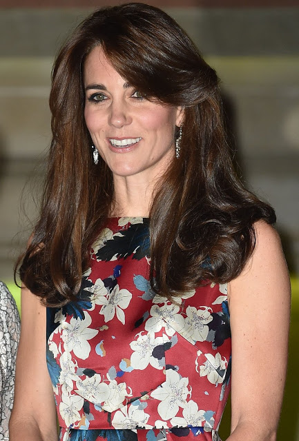 The Duchess Of Cambridge Attended 100WHF's 2015 London Gala Dinner