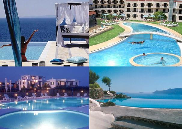 All Inclusive family vacations in Greek resort hotels