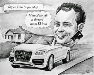 Audi sjåfør gave
