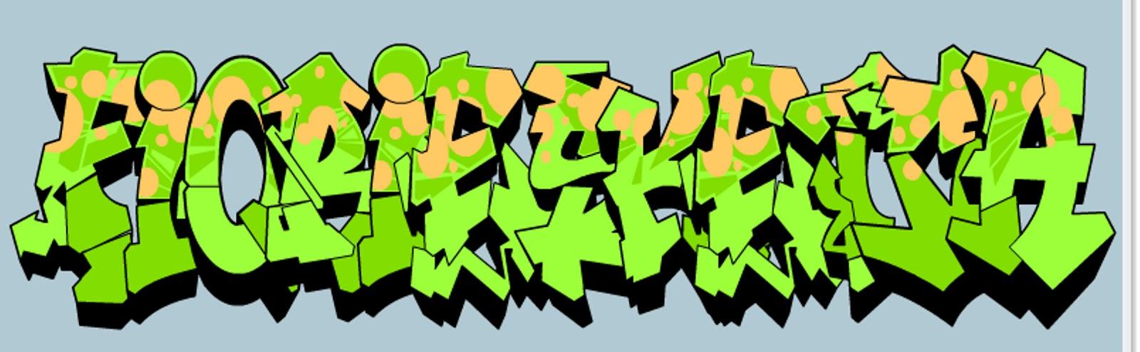 Menyimpan gambar dari graffiti creator