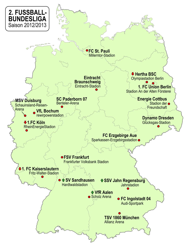 deutschlandlandkarte