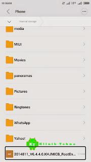 Cara Mudah Root Xiaomi Redmi 2 MIUI v6.4.4.0 Stable Global Roms Tanpa PC