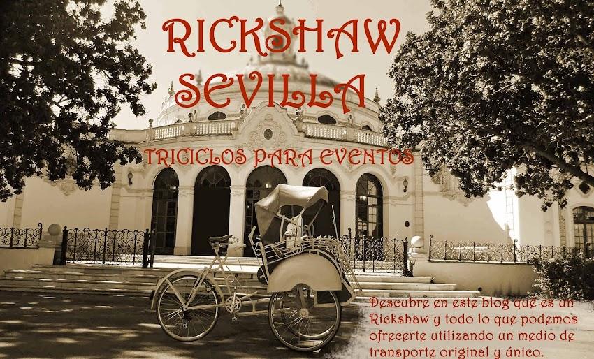 RICKSHAW SEVILLA. Triciclos para eventos.