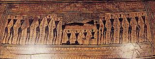 La edad oscura en grecia. Ceramica griega en la edad oscura. Historia de grecia antigua. Grecia