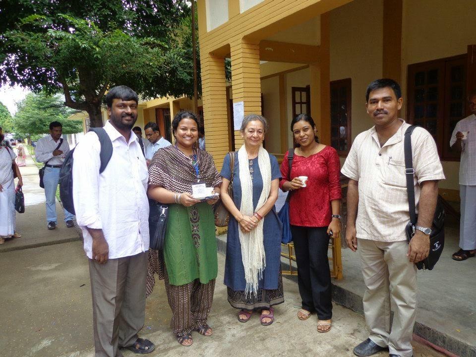with Dr. Kalpana Sahni @ Assam