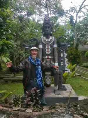 Di Museum H.Widayat Magelang