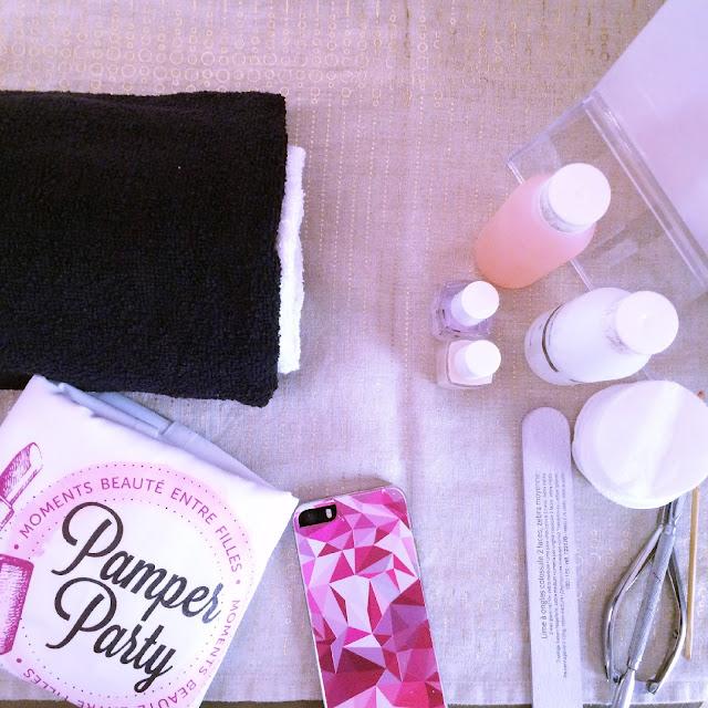 atelier DIY avec l'atelier Darling chez-Mademoiselle.com avec Enfin Moi, Pamper Party et La Pince à Linge