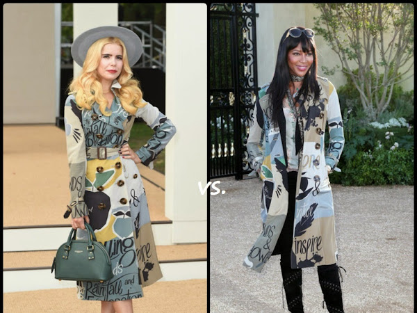 Who Wore It Best: Burberry Prorsum edition