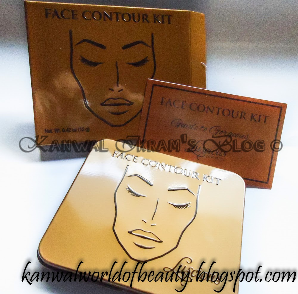Luscious Cosmetic Face Contour Kit-Review And Swatches (kanwal Ikram's Blog)