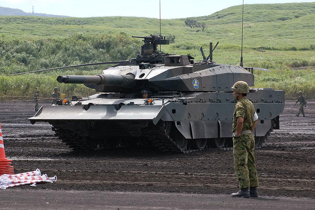 japon +Type+10+%252810%25E5%25BC%258F%25E6%2588%25A6%25E8%25BB%258A+Hito-maru-shiki-sensya%2529+Japanese+main+battle+tank+Japan+Ground+Self+Defense+Force+%25284%2529