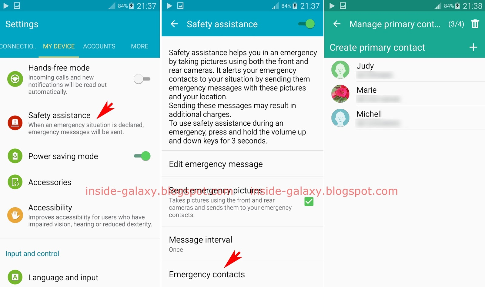 Fortunately, The Safety Assistance Feature In Samsung Galaxy S4 Lets You  Manage Your Emergency Contacts