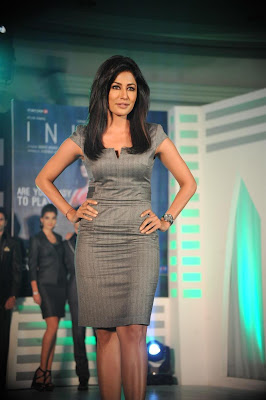 Chitrangada singh promoting movie inkaar at power play collection