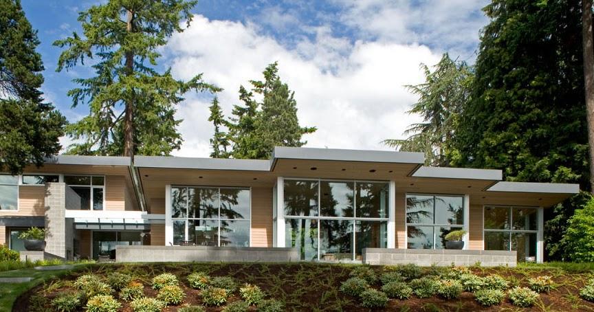 Dise o de interiores arquitectura acogedora y moderna for Casas modernas en washington