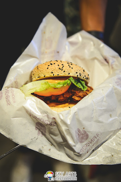 B.F.F. (Chicken Burger) @ 4 Fingers Crispy Chicken Mid Valley Megamall