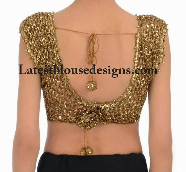 sequins blouse