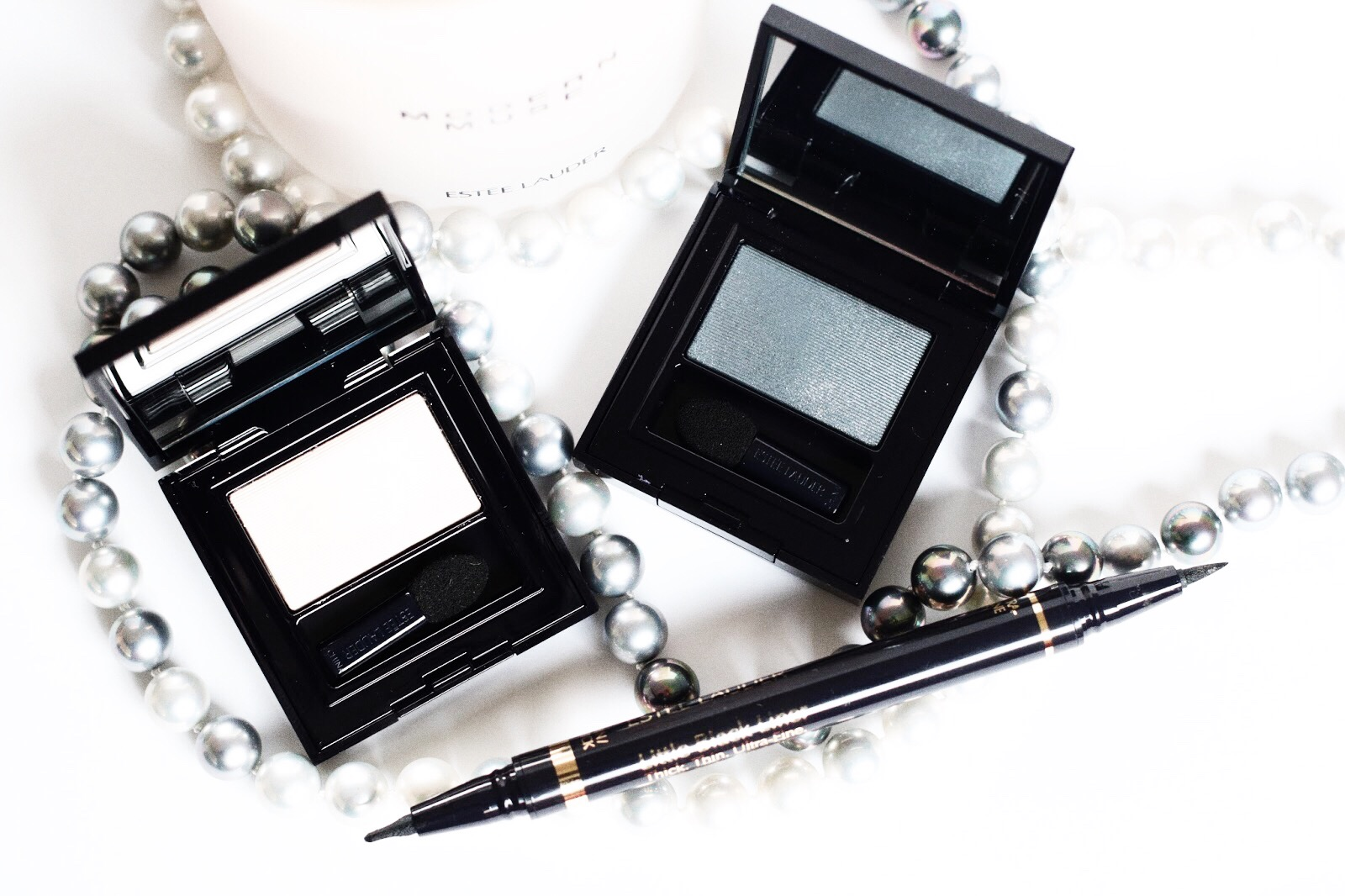 estee lauder pure color envy fard à paupières little black liner avis test swatch