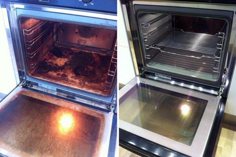 Quem odeia limpar o forno vai adorar esse truque.
