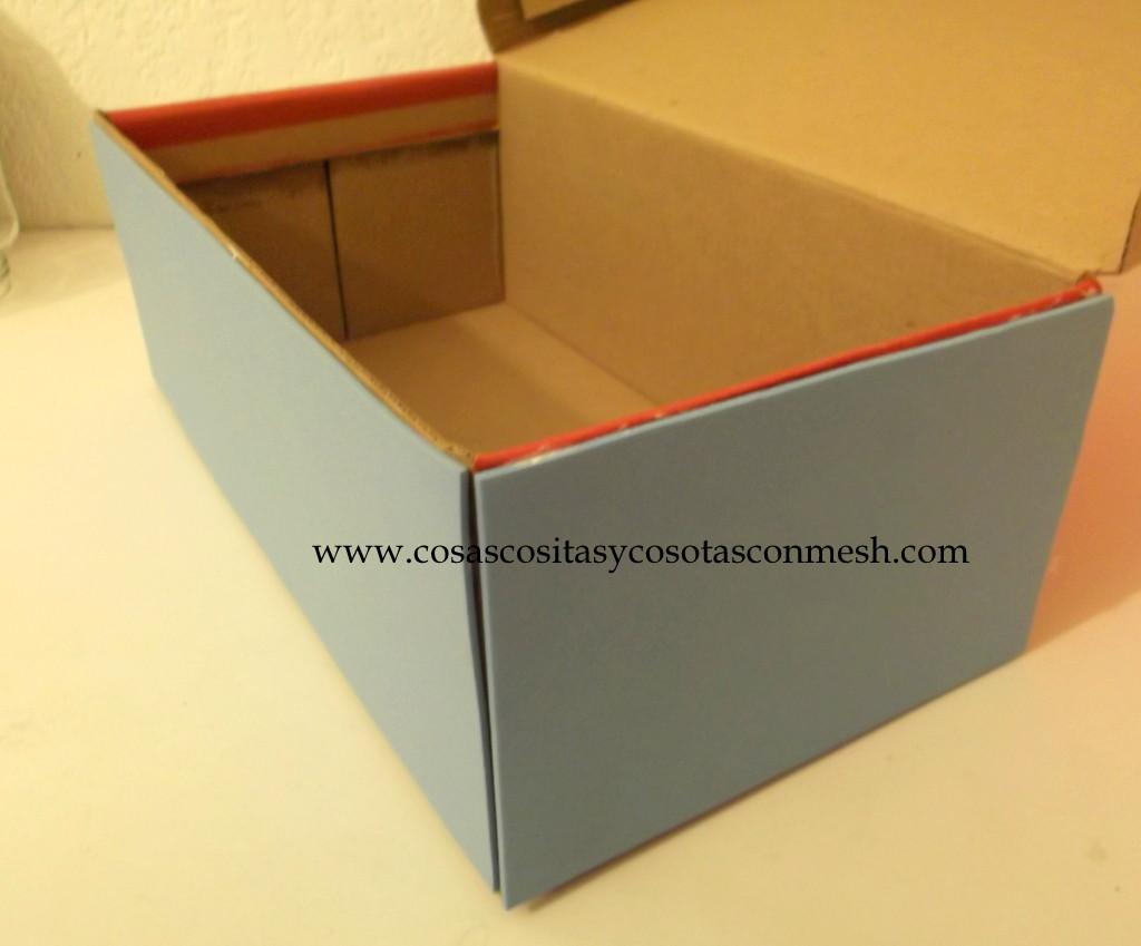 Como decorar una caja de zapato manualidadespauvila e d - Cajas para decorar ...