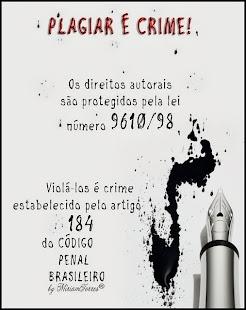 PLAGIAR É CRIME!