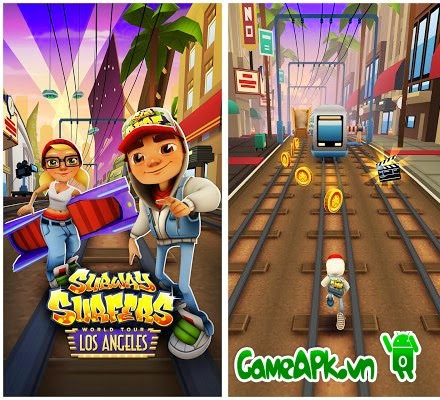 Subway Surfers Los Angeles v1.27.0 hack full tiền, keys cho Android