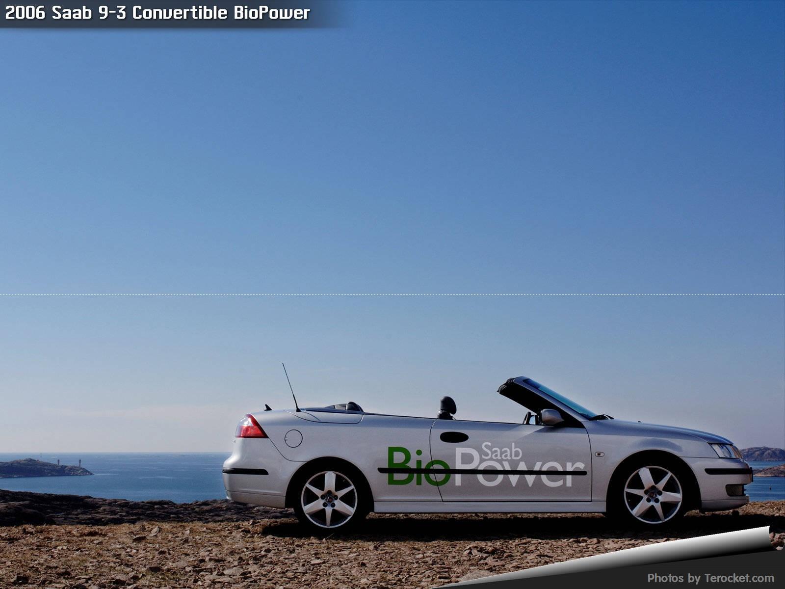 Hình ảnh xe ô tô Saab 9-3 Convertible BioPower 2006 & nội ngoại thất
