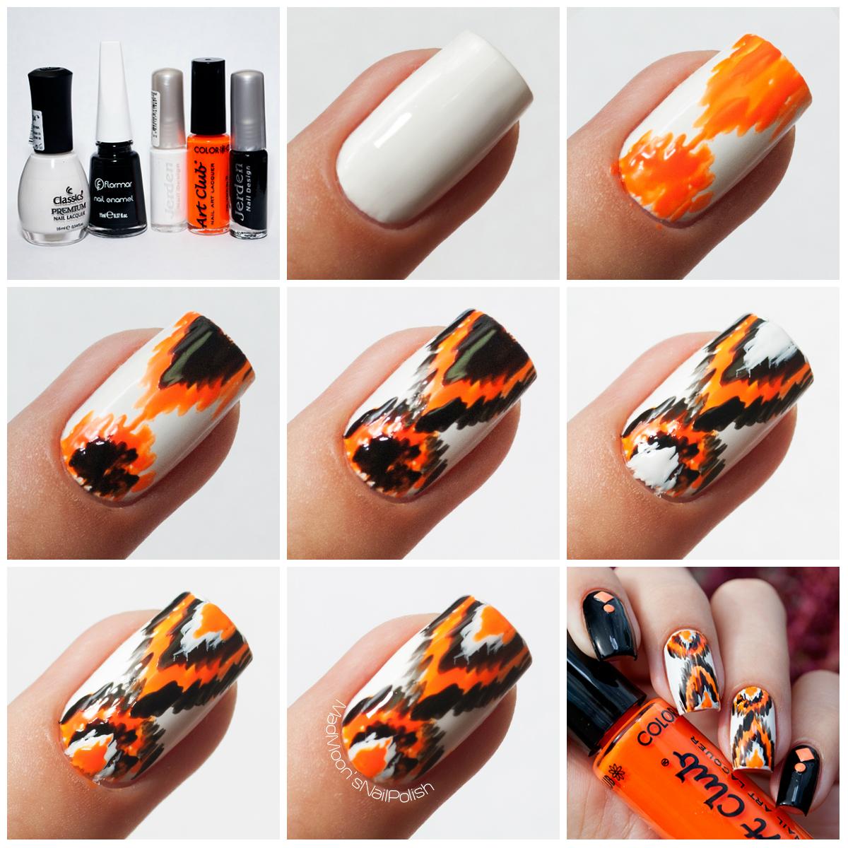 Неоновый Ikak nails