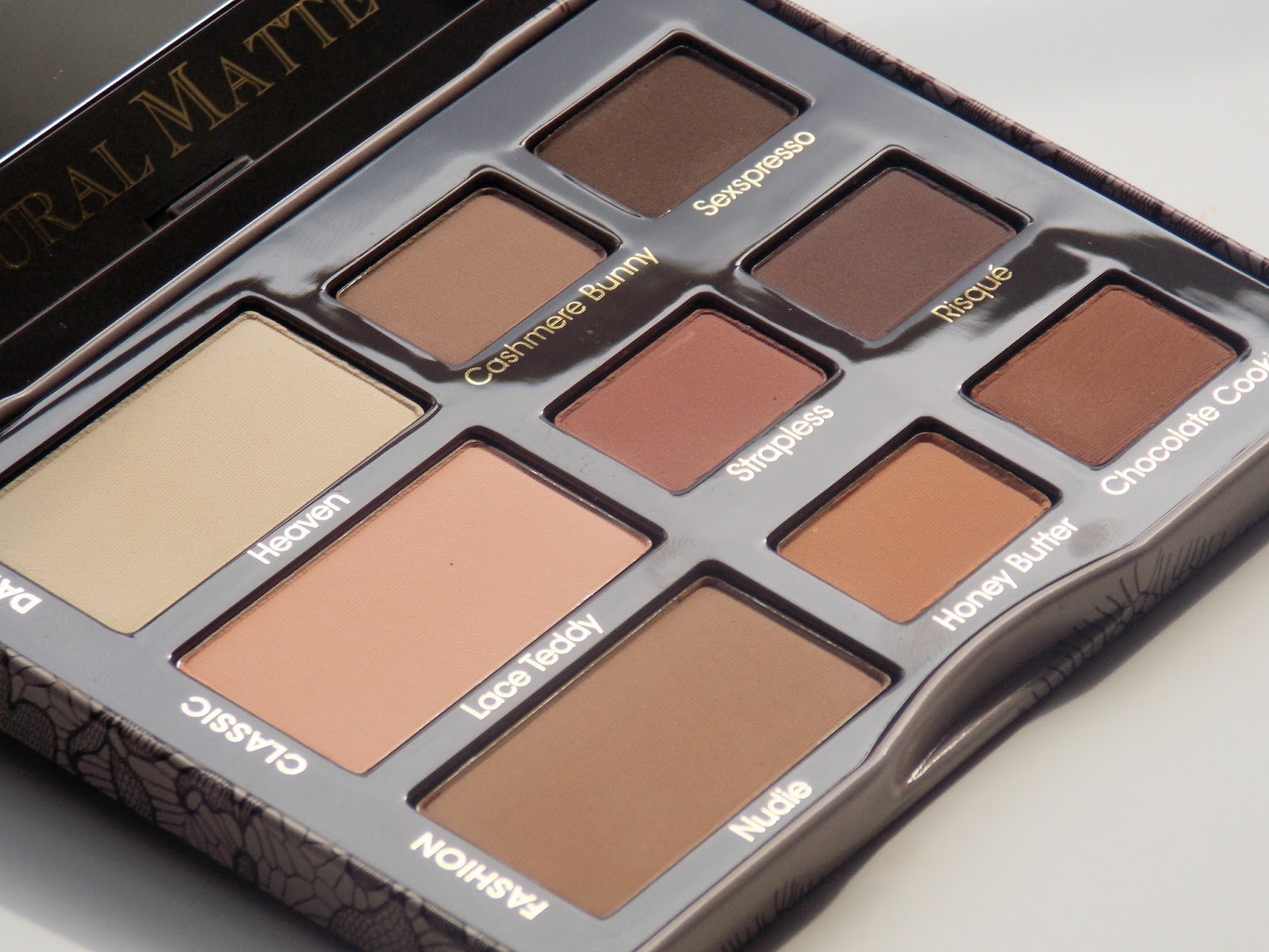 The Natural Eye: The Too Faced Natural Matte Palette