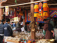 Handicraft market - Thmiphu