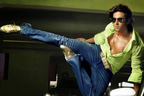 Hrithik Roshan in action