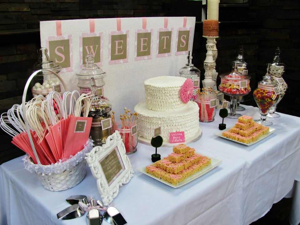 Baby Shower Candy Table 960 x 720
