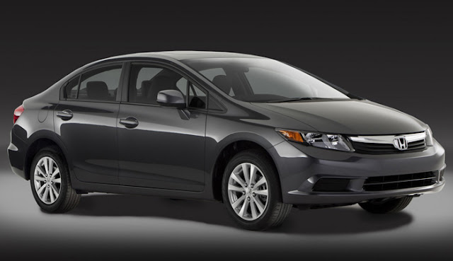 Novo Honda Civic 2012 EX-L Sedan