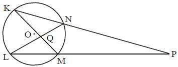 Soal Sudut Dua Tali Busur Berpotongan Di luar Lingkaran