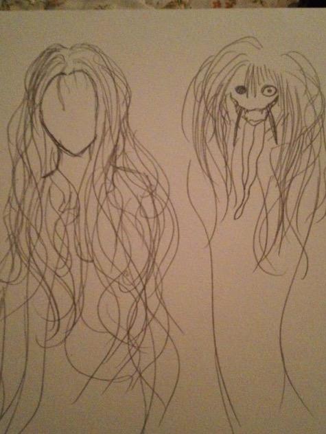 Gadis lakar wajah hantu yang pernah dijumpanya