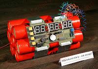 Devastator - Bombowy zegarek na ATmega8