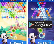 Puzzle Game of the Month - Panda Bubble Shoot Pet
