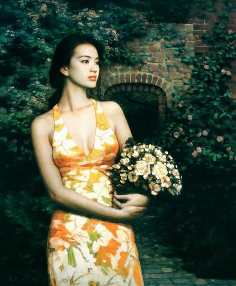 cuadros-de-mujeres-hermosas-pintadas-al-oleo