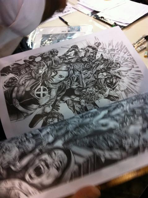 Marvel artist Mico Suayan