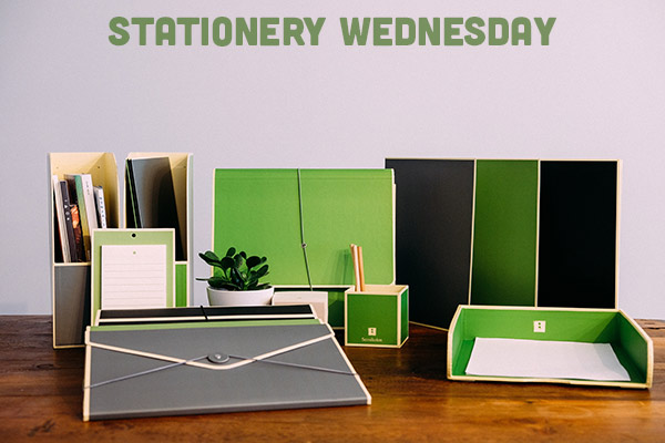 #stationerywednesday - SemiKolon storage from Bureau Direct