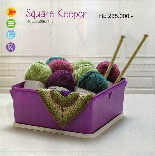 Square Keeper Tupperware