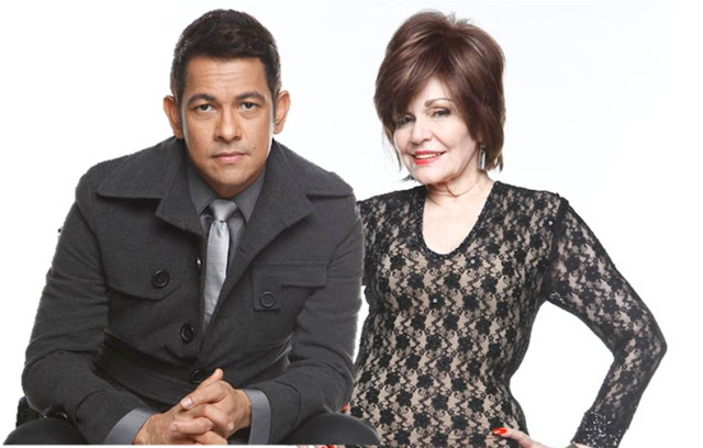 Gary Valenciano and Pilita Corrales The X Factor Philippines Judge-mentors