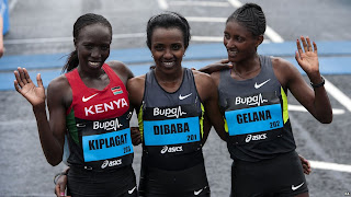 Tirunesh Dibaba half marathon