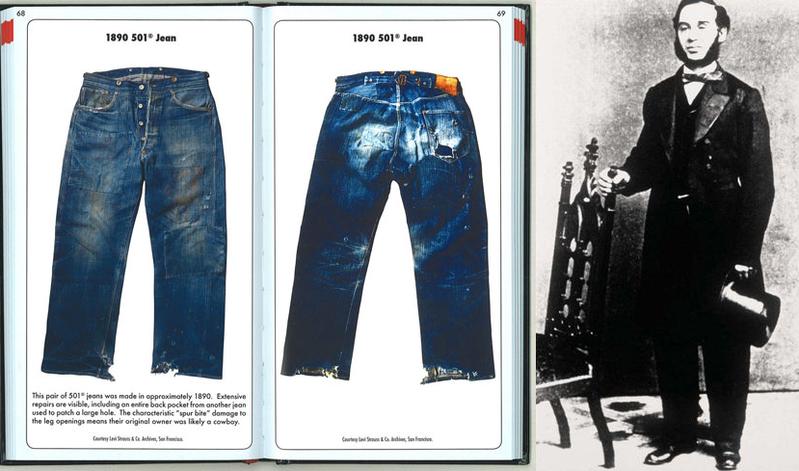 historia dżinsów history jeans