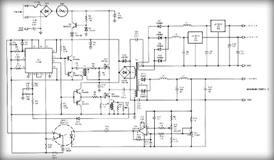 What must todo multiple output switching power supply circuit ic tl494 switching regulator ic provides pulse with modulation control and drive signals for the power supply the upper mosfet q7 in the power switch ccuart Choice Image