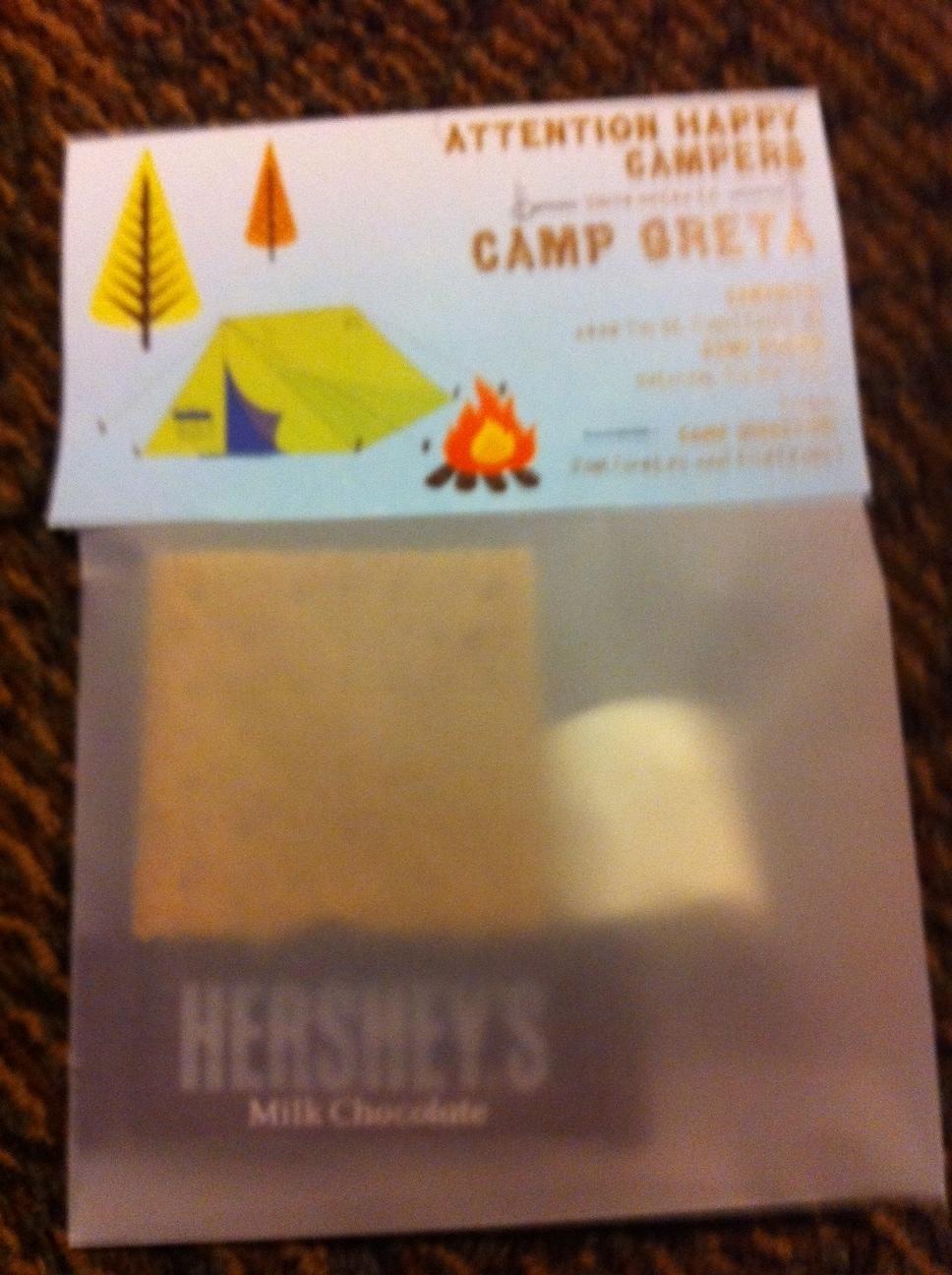 Sean and Nicole: DIY Camping Party Invitations